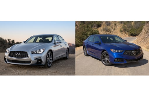 Acura TLX A-Spec Earns Re-spect Over Infiniti Q50